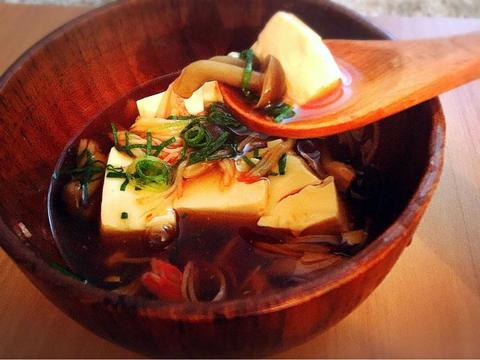 【レシピ】暖まる♡生姜入りあんかけ豆腐