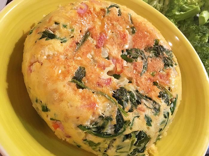 【レシピ】炊飯器で楽々♪ほうれん草のおからキッシュ