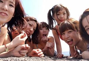 【あそぶ日】 <br /> 高松店のあそぶ日。海辺で朝ヨガをした後のワンショット♪