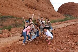 【海外研修】 <br /> 仕事もあそびも本気!入社継続年数によって 海外研修があります! in オーストラリア