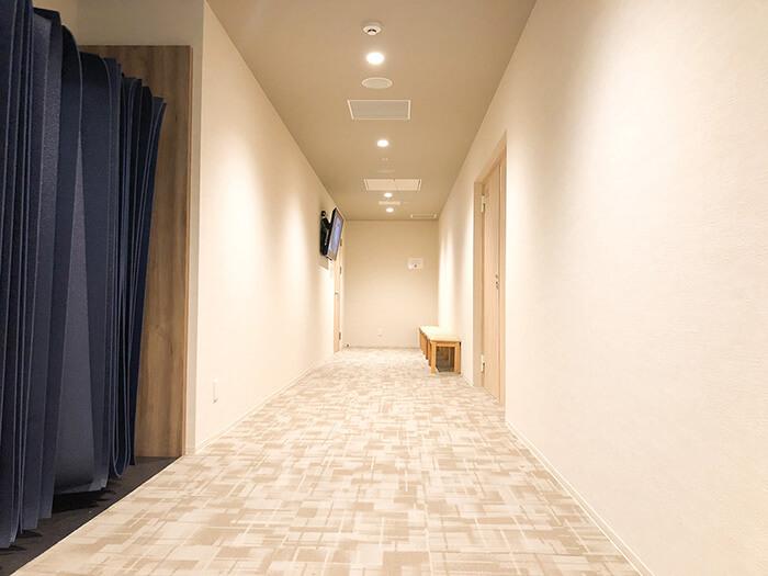 松本店のスタジオ待ちスペース