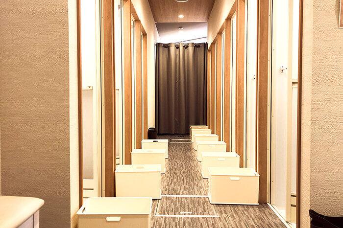 神戸三宮店のシャワールーム