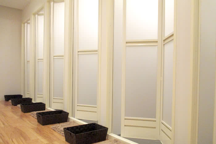 京都店のシャワールーム