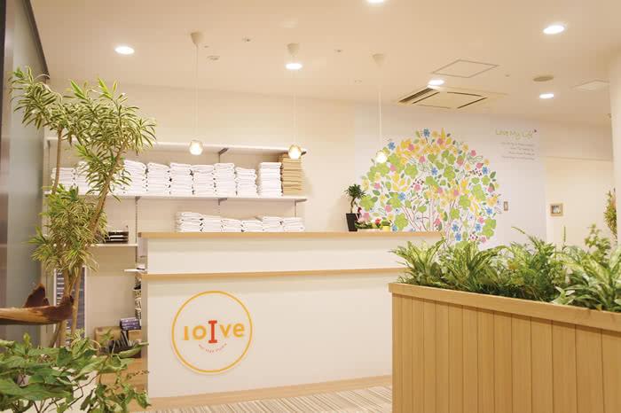 札幌店のフロント