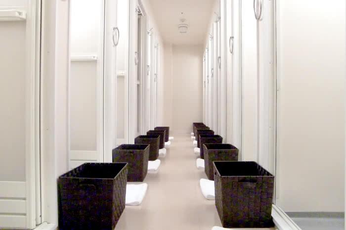 仙台店のシャワールーム