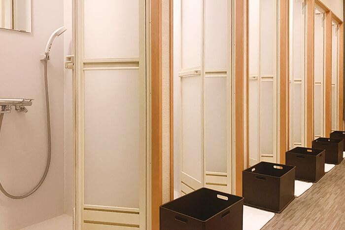 各務原店のシャワールーム