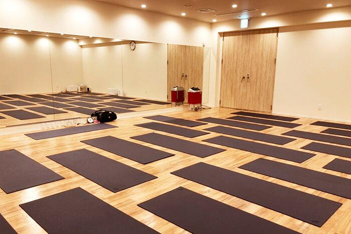 紀伊川辺店のスタジオ