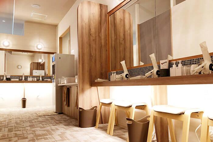 小松店のパウダールーム