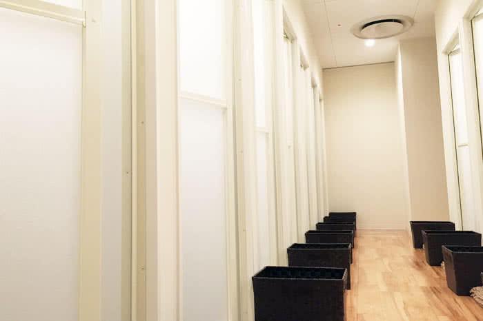 高松店のシャワールーム
