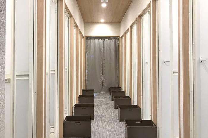 徳島店のシャワールーム