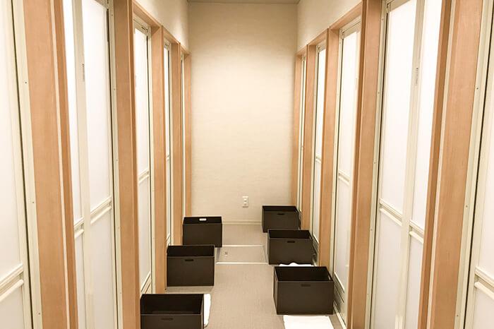 ゆめタウン姫路店のシャワールーム