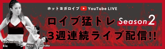 Youtube LIVE:ロイブ猛トレ session2
